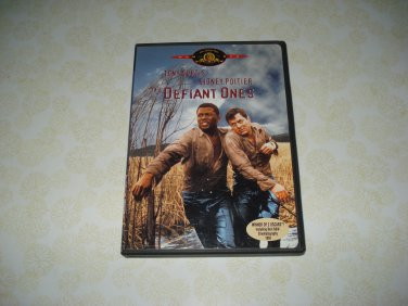 The Defiant Ones DVD Starring Tony Curtis Sidney Poitier