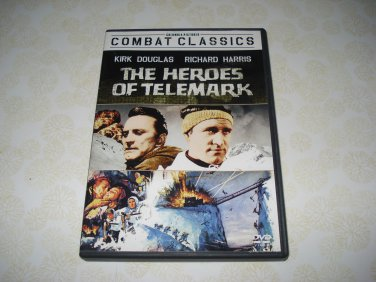 The Heroes Of Telemark DVD Starring Kirk Douglas Richard Harris