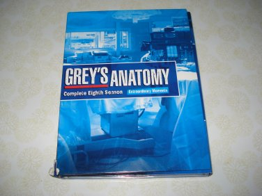 Grey's Anatomy The Complete Eighth Season DVD Set