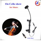 Hot Instrument Cello Microphone for Shure Wireless System with 125mm 145mm Thickness XLR Mini