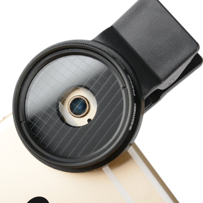 Professional Mobile Phone Filter 37mm 6  Line Star Filters Evening ND FIlter Lens for iPhone etc