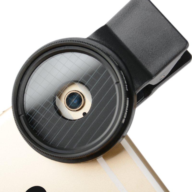 Professional Mobile Phone Filter 37mm 4 Line Star Filters Evening ND FIlter Lens