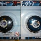 Star Wars Set of 2 Different Light Up Yoyo Yo Yo 2012