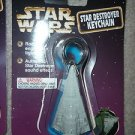 Star Wars Star Destroyer with Engine Light Keychain   1997 Tiger Electronics