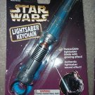 Star Wars Glowing Lightsaber Keychain   1997 Tiger Electronics