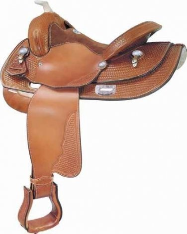 Saddlesmith Loomis Reiner Reining Saddle 15""