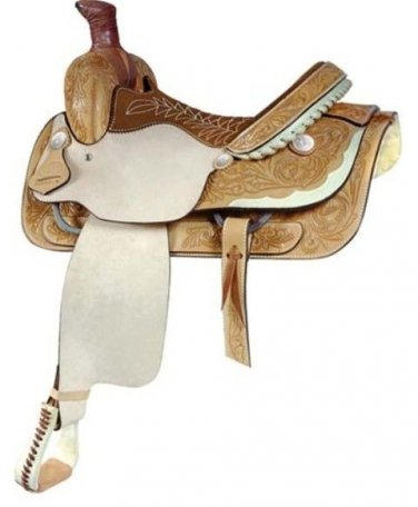 "Billy Cook 14.5"" Lady Half Breed Roping Saddle"