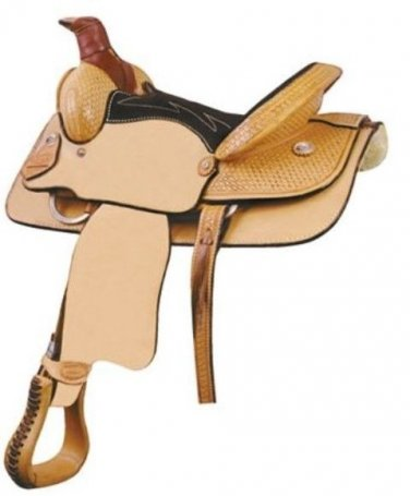 "Billy Cook 13.5"" Youth Roping Saddle"