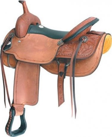 "Billy Cook 17"" Cuttin Up Cutter Cutting Saddle"