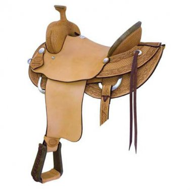 "Billy Cook 16.5"" or 17.5"" High River Ranch Roping Saddle"