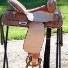 Billy Cook Paycheck Supreme Barrel Racer Saddle 15""