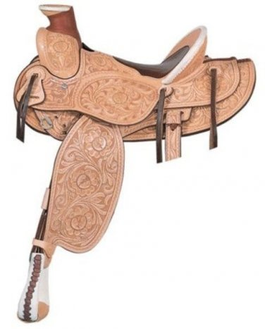 Billy Cook Horn of Plenty Roping Saddle 16""