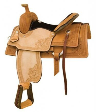 "Billy Cook 15.5"" or 16.5"" Montgomery Ranch Roping Saddle"