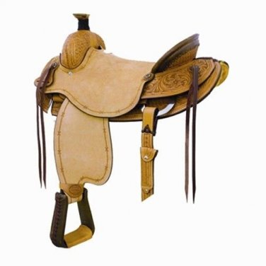 Billy Cook Tombstone Ranch Roping Saddle 15.5""