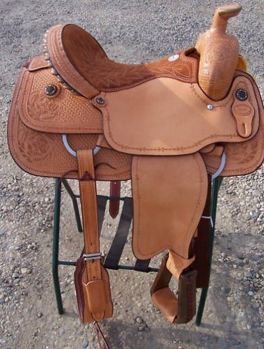 "Billy Cook 16"" Brownwood Roping Roper Saddle"