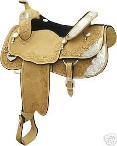 Billy Cook Denton County Show Saddle 17""