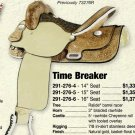 Billy Cook Time Breaker Barrel Saddle 15""