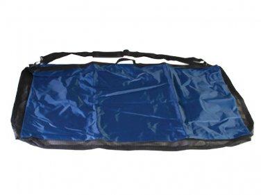 Black Pad Blanket Carrier Tote Bag