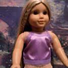 Purple Camisole for American Girl 18 inch dolls