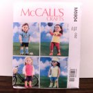 DOLL CLOTHES PATTERN THAT FITS 18 INCH AMERICAN GIRL DOLLS-McCALLS #M6904