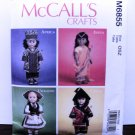 DOLL CLOTHES PATTERN THAT FITS 18 INCH AMERICAN GIRL DOLLS-SIMPLICITY #6855