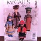 DOLL CLOTHES PATTERN THAT FITS 18 INCH AMERICAN GIRL DOLLS-McCALLS #M6670
