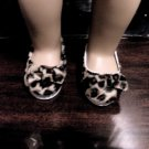 LEOPARD PRINT FLATS FOR AMERICAN GIRL 18 INCH DOLLS