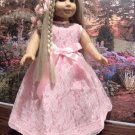 Fancy Spring Party dress For American Girl 18 inch Dolls