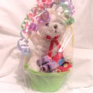 Teddy Bear Easter Basket for American Girl 18 Inch Dolls