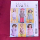 STYLISH OUTFITS FOR YOUR AMERICAN GIRL 18 INCH DOLLS-McCalls #M6137