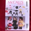 Doll Pattern that fits American Girl dolls-McCALLS #M6669