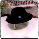 Navy Velvet Derby Hat for American Girl 18 inch dolls