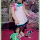Gardening Set with Apron for American Girl 18 inch dolls