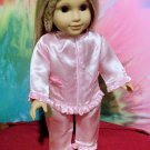 Pink Satin Pajamas for American Girl 18 inch dolls