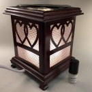 Electric Fragrance Wooden Lamp a115