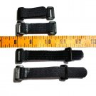 New Adjustable Velcro Buckles Straps Closures for Paracord Bracelets, 10 qty