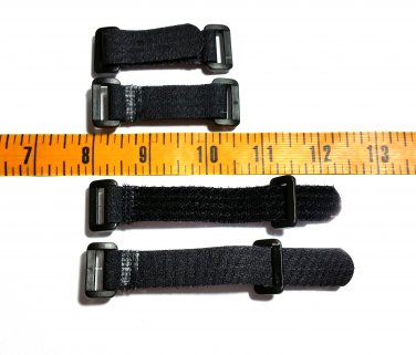 New Adjustable Velcro Buckles Straps Closures for Paracord Bracelets, 10 qty