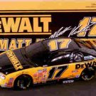 ACTION 1999 1/24 MATT KENSETH #17 DEWALT BLACK WINDOW CAR BANK   NASCAR DIECAST
