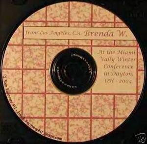 "Brenda W ""I'm not loved"" 12 Step Talks Al-Anon CDs"