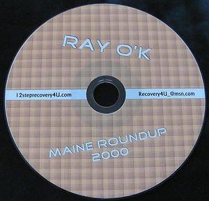 Alcoholics Anonymous Talk AA Speaker CD - Ray O'Keefe