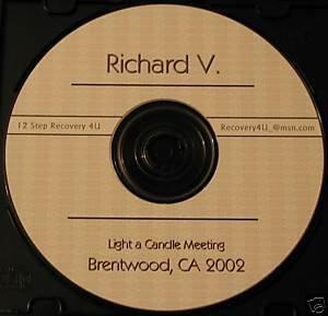 Overeaters Anonymous 12 Step Speaker CD - Richard V.