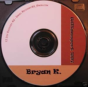 NA - Narcotics Anonymous 12 Step Speaker CD - Bryan K.