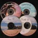 Sue & Keith D. Barbara & Charlie P. 4 CDs Alcoholics Anonymous Al-Anon couples