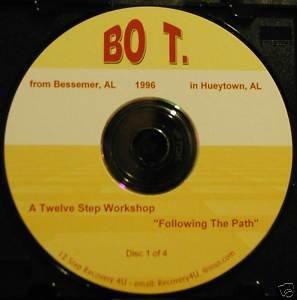 Al-Anon 12 Step Workshop Alanon AFG talks 4 CDs Bo T