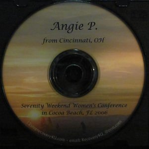 AA - Alcoholics Anonymous 12 Step Speaker CD - Angie P.