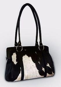 Genuine Leather Cowhide Women Bags Ladies Cow Hide Shoulder Bag NEW