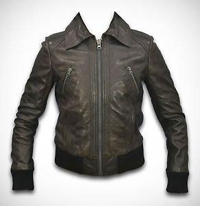 Fashion Leather Jacket Women Ladies New Design Lamb Leather Jacket Durable Soft