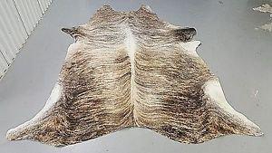 Cow Hide Rug Tan GREY COWHIDE RUG BRAZILIAN COW Skin 85*65 950