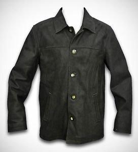 Leather Jacket Blazer Overcoat Men's 100% Leather Durable Winter Jacket