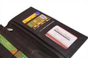 Wholesale X 25 PCs Ladies Purse Inner Long Wallets Cow Leather Clutches,